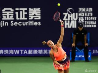WTA珠海赛科维托娃V文奇