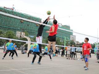 遂昌舉辦第七屆教職工排球賽