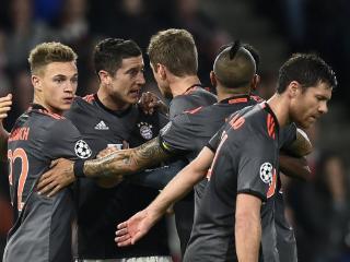 拜仁球员评分:莱万最佳,穆勒阿隆索差评
