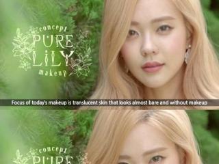 韩剧仿妆总不像 那是因为没有画出清纯百合妆感