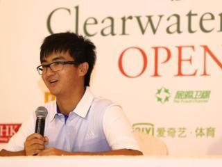窦泽成首度造访香港清水湾 目标直指赛季奖金王